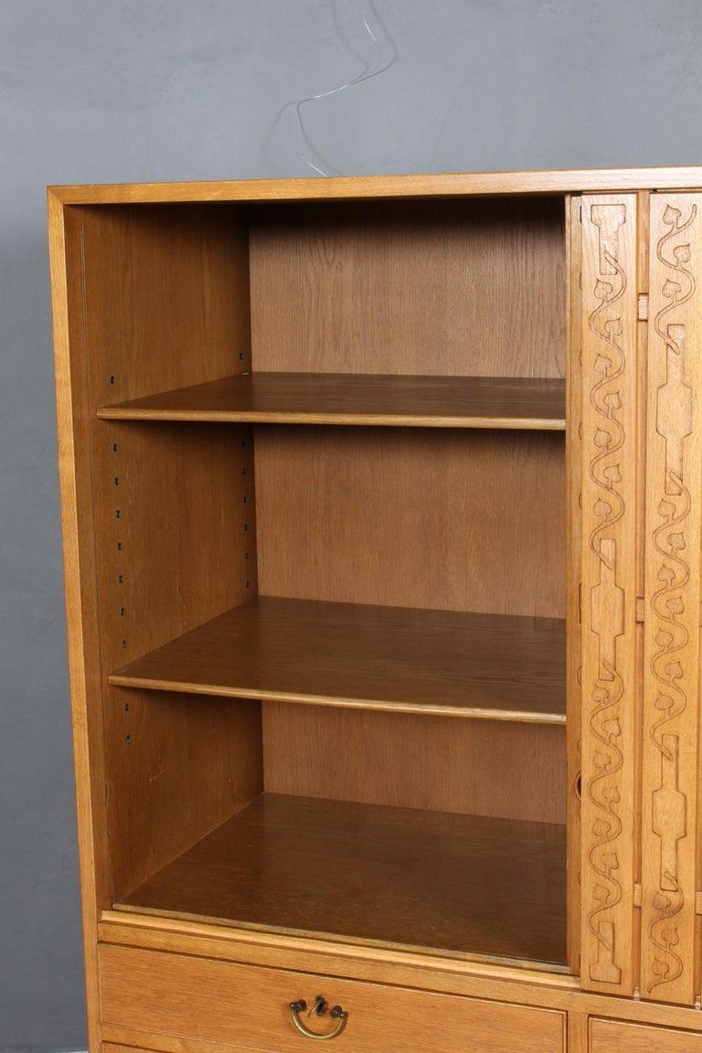 Hans J. Wegner for Mikael Laursen, Cabinet, 1940s 1