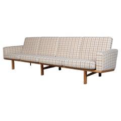 Hans J. Wegner Four-Seat Sofa Model 236/4