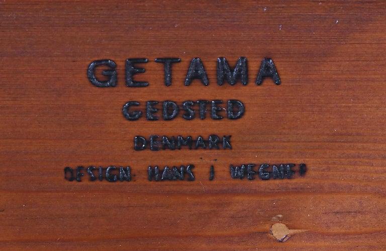 Hans J. Wegner GE-259 Adjustable Cane Daybed for GETAMA For Sale 7