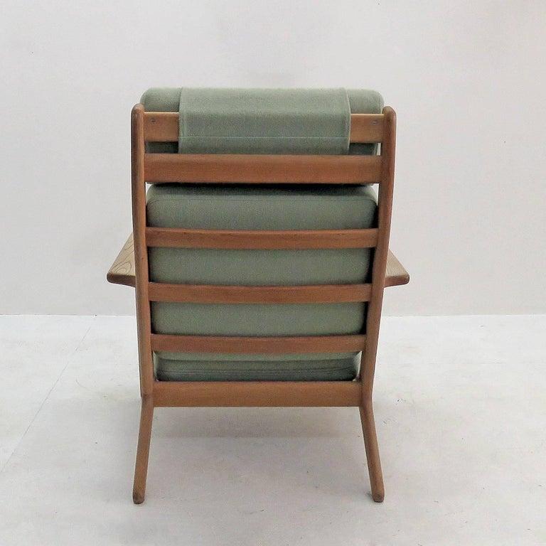 Mid-20th Century Hans J. Wegner GE 290 High Back Chair For Sale