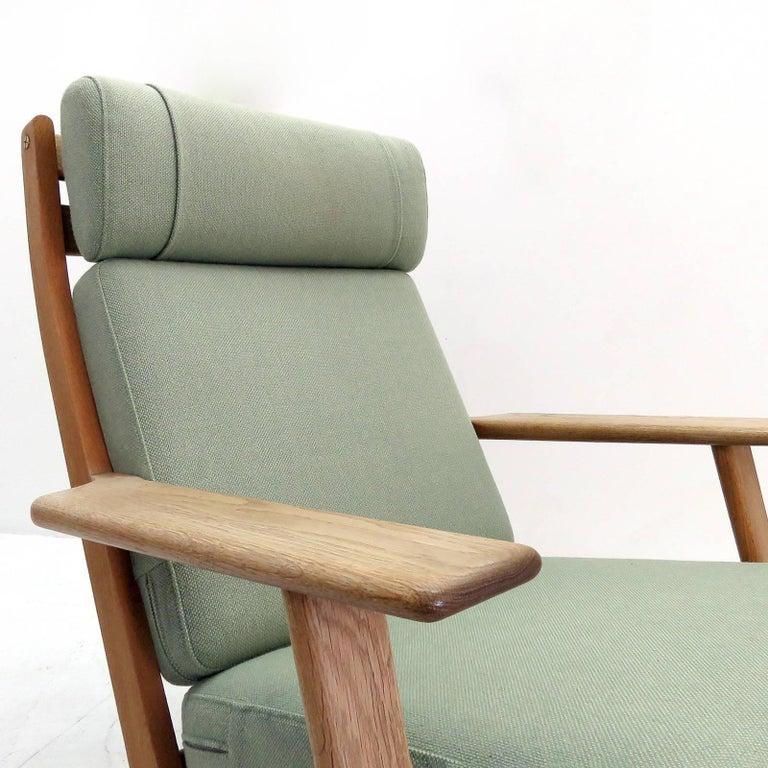 Hans J. Wegner GE 290 High Back Chair For Sale 1