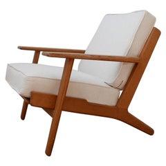 Hans J Wegner GE290 Lounge Armchair