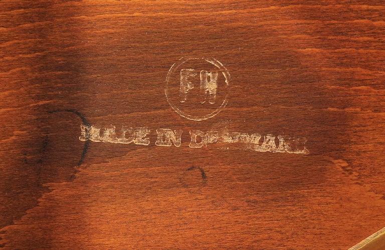Hans J. Wegner 'Heart' Dining Chairs for Fritz Hansen For Sale 6