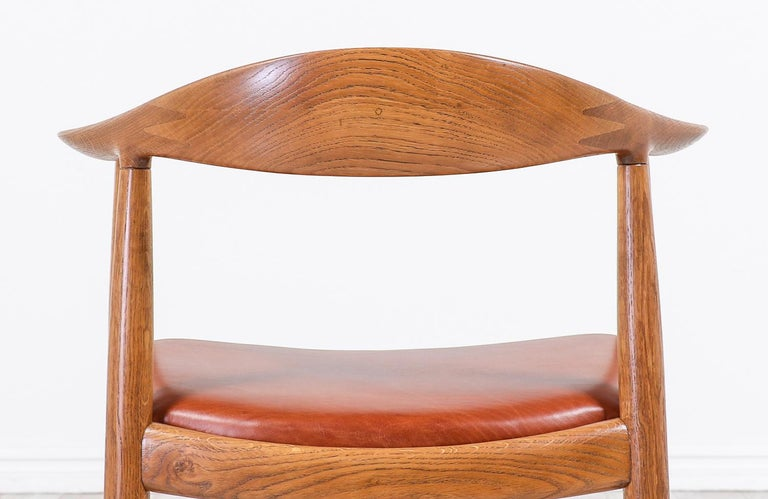Leather Hans J. Wegner JH 501