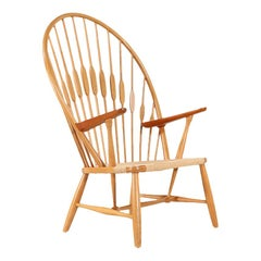 Hans J. Wegner JH-550 Peacock Chair for Johannes Hansen