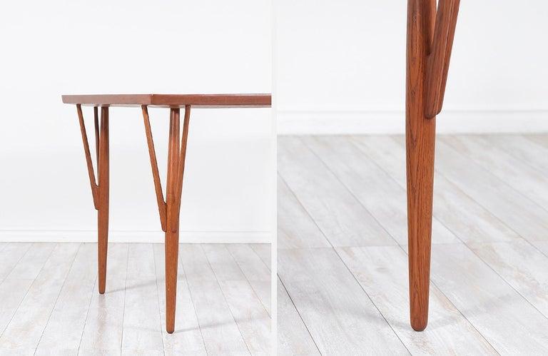 Hans J. Wegner JH-561 Dining Table / Desk for Johannes Hansen For Sale 9