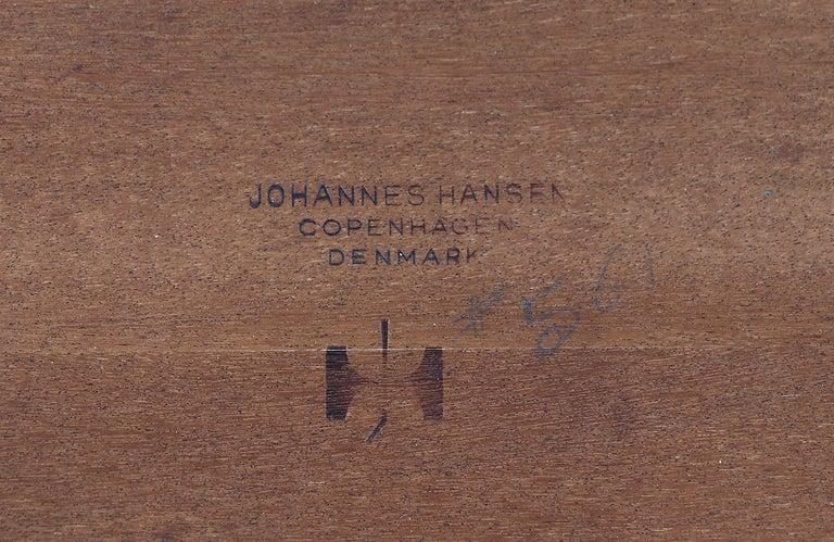 Hans J. Wegner JH-561 Dining Table / Desk for Johannes Hansen For Sale 10