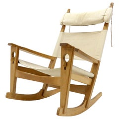 Hans J. Wegner 'Keyhole' Rocking Chair, 1967