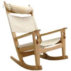 Hans J. Wegner 'Keyhole' Rocking Chair, 1967