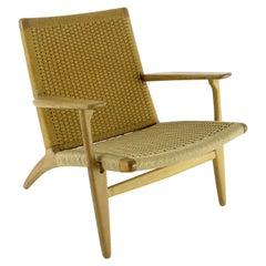 Hans J. Wegner, Lounge Chair CH 25, Denmark 1950s