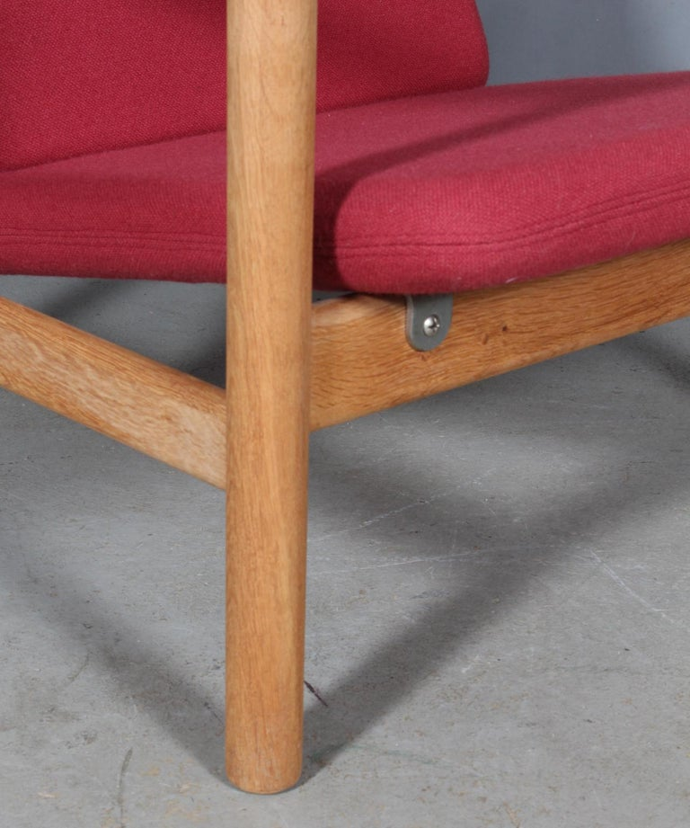 Danish Hans J. Wegner, Lounge Chair For Sale