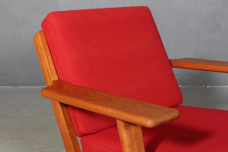 Mid-Century Modern Hans J. Wegner, Lounge Chair, Model 290, Teak For Sale