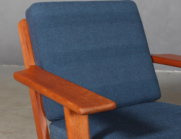 Mid-Century Modern Hans J. Wegner, Lounge Chair, Model 290, Teak