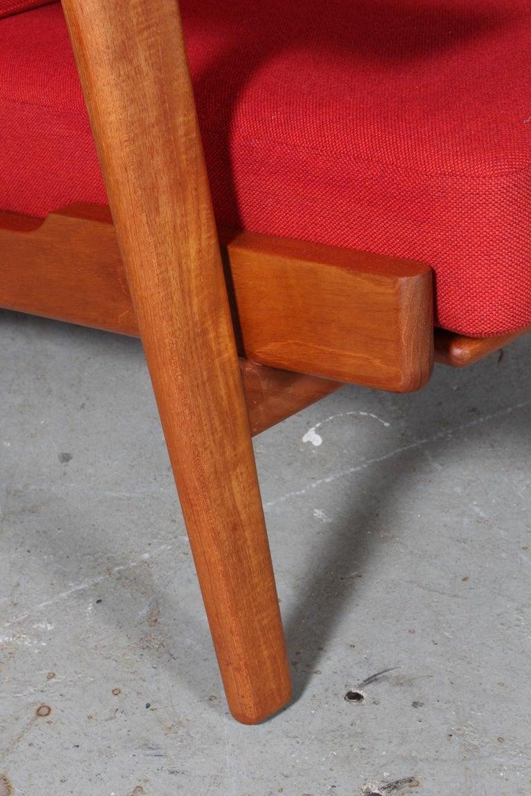 Danish Hans J. Wegner, Lounge Chair, Model 290, Teak For Sale