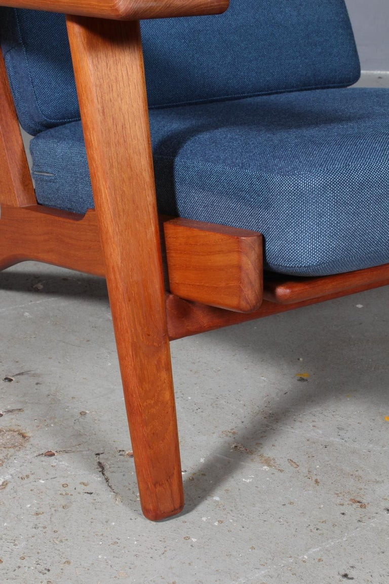 Danish Hans J. Wegner, Lounge Chair, Model 290, Teak
