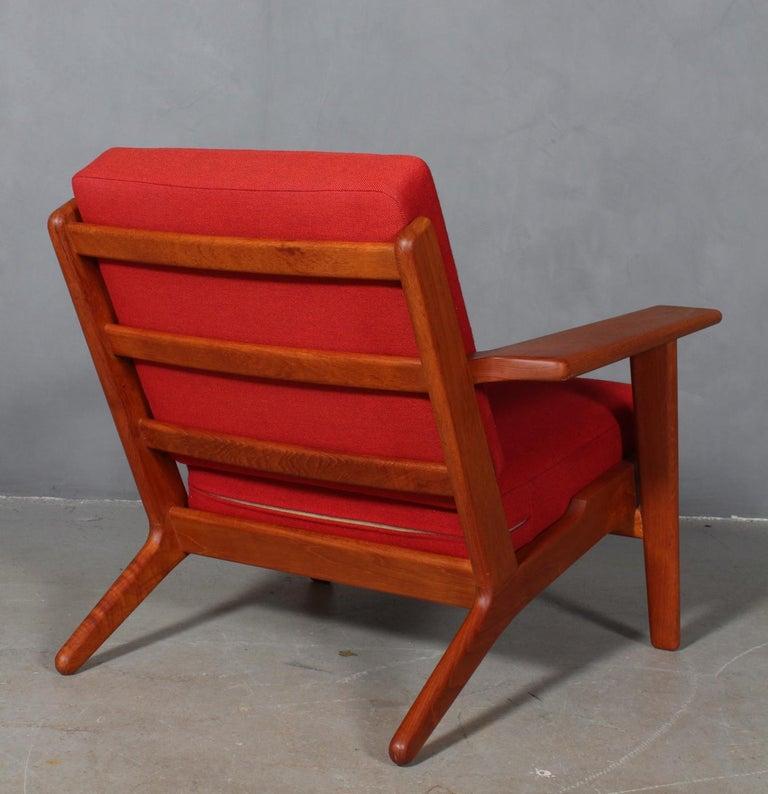 Mid-20th Century Hans J. Wegner, Lounge Chair, Model 290, Teak For Sale