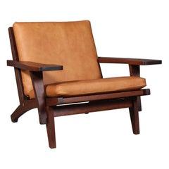 Hans J. Wegner Lounge Chair, Model GE-370