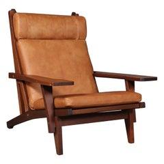Hans J. Wegner Lounge Chair, Model GE-375