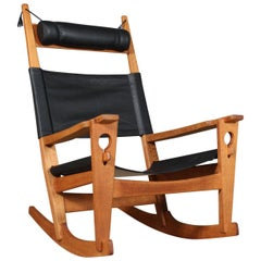 Hans J. Wegner Lounge Chair / Rocking Chair