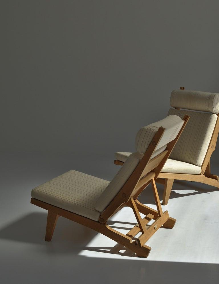 Danish Hans J. Wegner Lounge Chairs