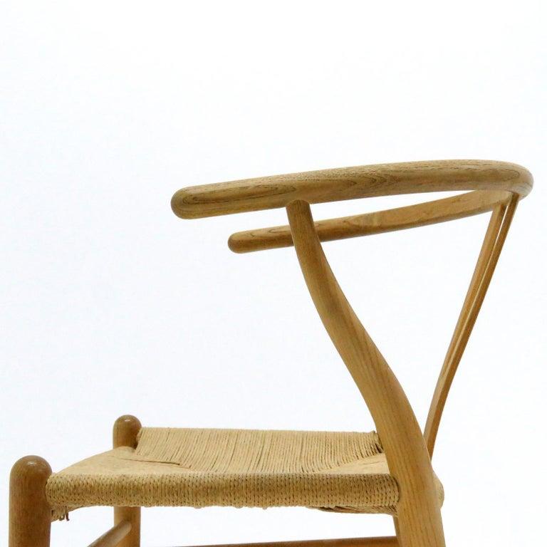 Hans J. Wegner Model CH-24 Dining Chairs, 1950 For Sale 4