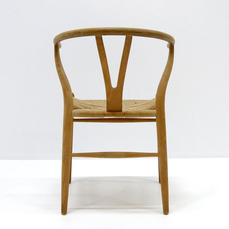 Mid-20th Century Hans J. Wegner Model CH-24 Dining Chairs, 1950 For Sale
