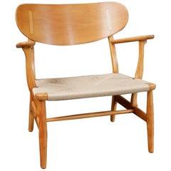 Hans J Wegner Model CH22 Armchair for Carl Hansen and Son, 1950