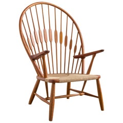 Hans J. Wegner Model JH 550 Peacock Chair