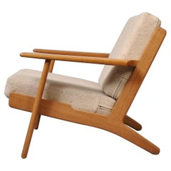 Hans J Wegner, Oak, Early 1950s Lounge Chair