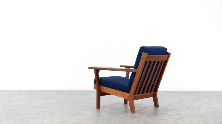Hans J. Wegner, Original 1956, Lounge Chair Armchair GE-320 by GETAMA, Denmark For Sale 3