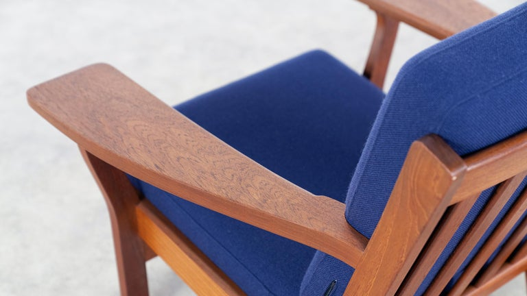 Hans J. Wegner, Original 1956, Lounge Chair Armchair GE-320 by GETAMA, Denmark For Sale 6