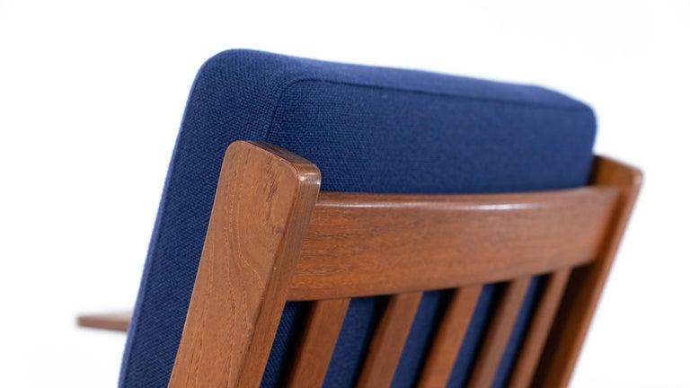 Hans J. Wegner, Original 1956, Lounge Chair Armchair GE-320 by GETAMA, Denmark For Sale 7