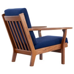 Hans J. Wegner, Original 1956, Lounge Chair Armchair GE-320 by GETAMA, Denmark