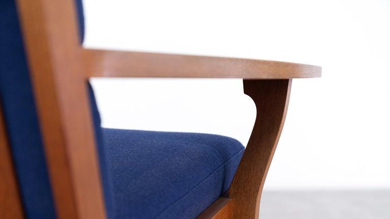 Hans J. Wegner, Original 1956, Teak 3-Seat Sofa GE-320 by GETAMA, Denmark For Sale 5