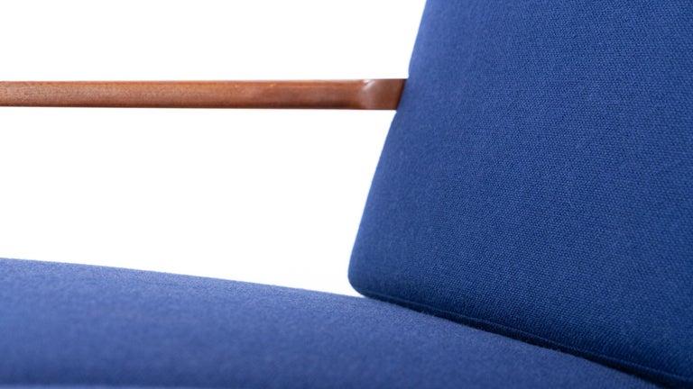 Hans J. Wegner, Original 1956, Teak 3-Seat Sofa GE-320 by GETAMA, Denmark For Sale 8