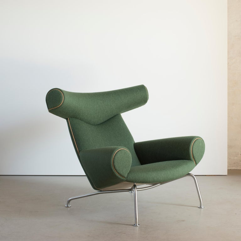 Scandinavian Modern Hans J. Wegner Ox-Chair for AP-Stolen For Sale