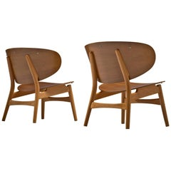 Hans J. Wegner Pair of 'FH 1936' Lounge Chairs