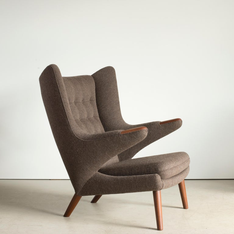 Danish Hans J. Wegner Papa Bear Chair for A.P. Stolen