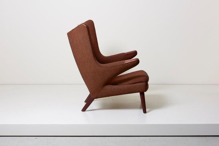 Scandinavian Modern Hans J. Wegner Papa Bear Chair