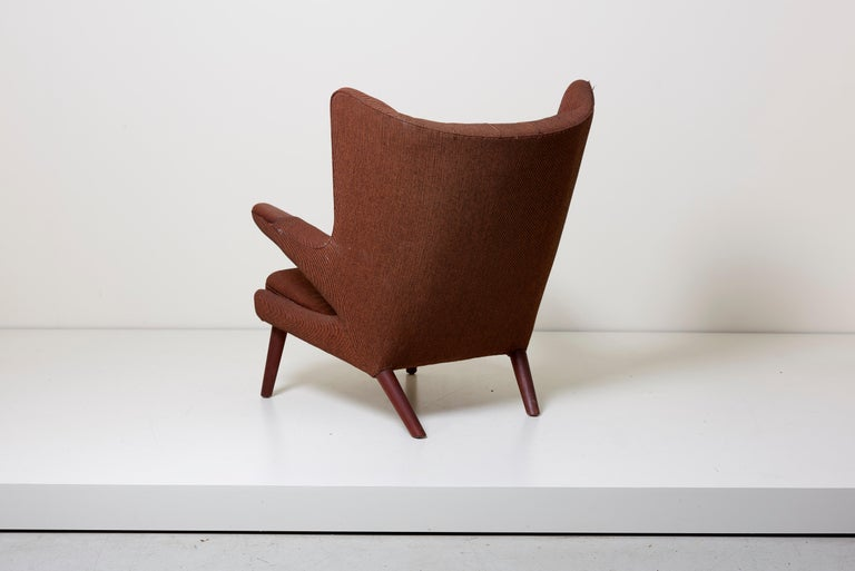 Danish Hans J. Wegner Papa Bear Chair