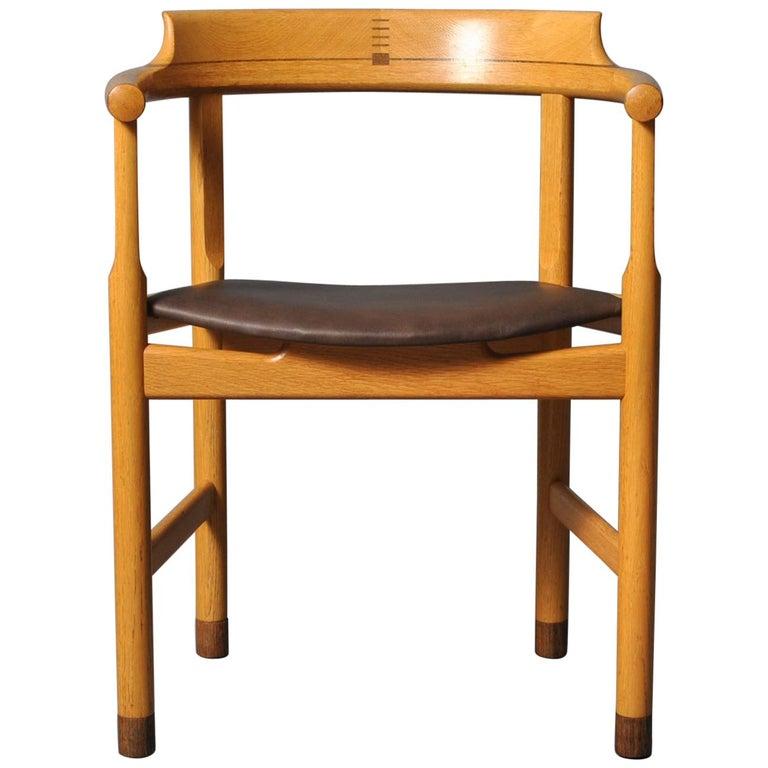 Hans J Wegner PP52 Chairs For Sale