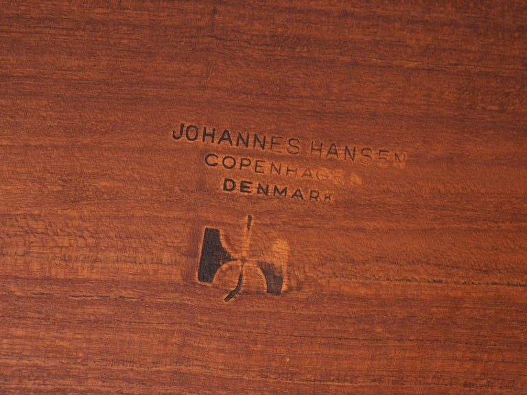 Hans J. Wegner Rare 'JH572' Architect's Desk, 1953 For Sale 6