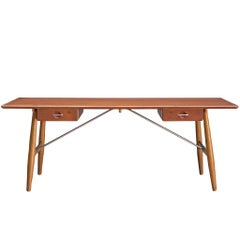 Hans J. Wegner Rare 'JH572' Architect's Desk, 1953
