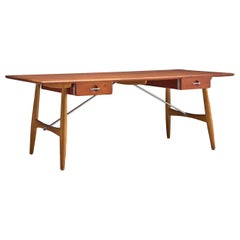 Hans J. Wegner Rare 'JH571' Desk in Oak
