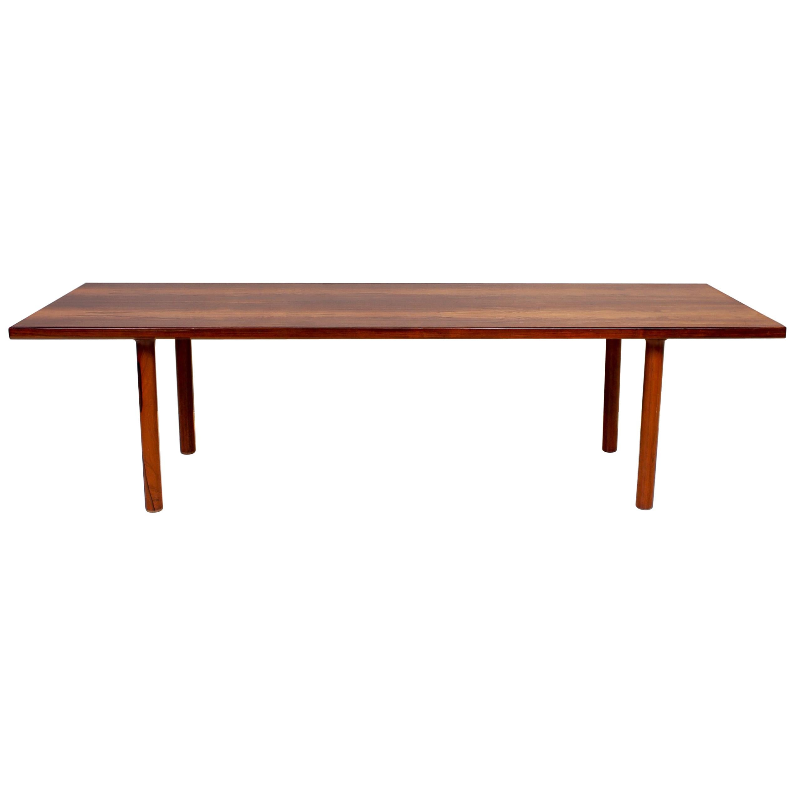 Hans J Wegner Rosewood Coffee Table by Andreas Tuck, 1950s