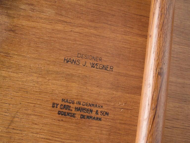 Hans J. Wegner Set of Eight Matching 'Sawbuck' Chairs For Sale 3