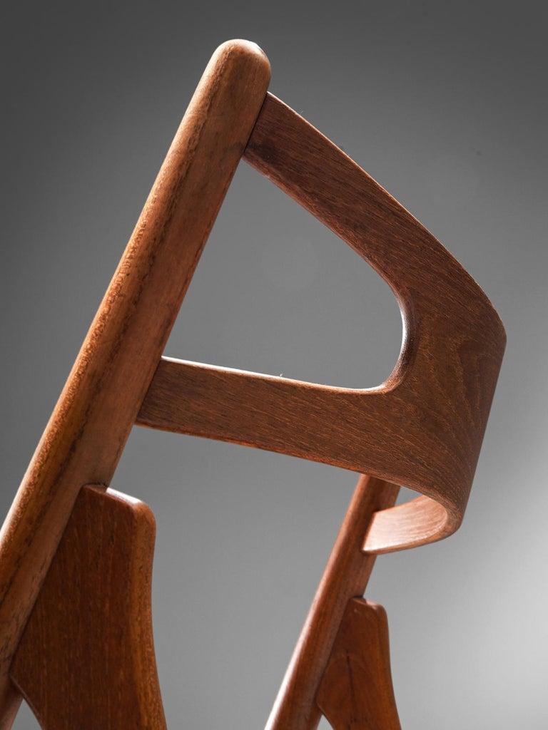 Mid-20th Century Hans J. Wegner Sawbuck Chairs