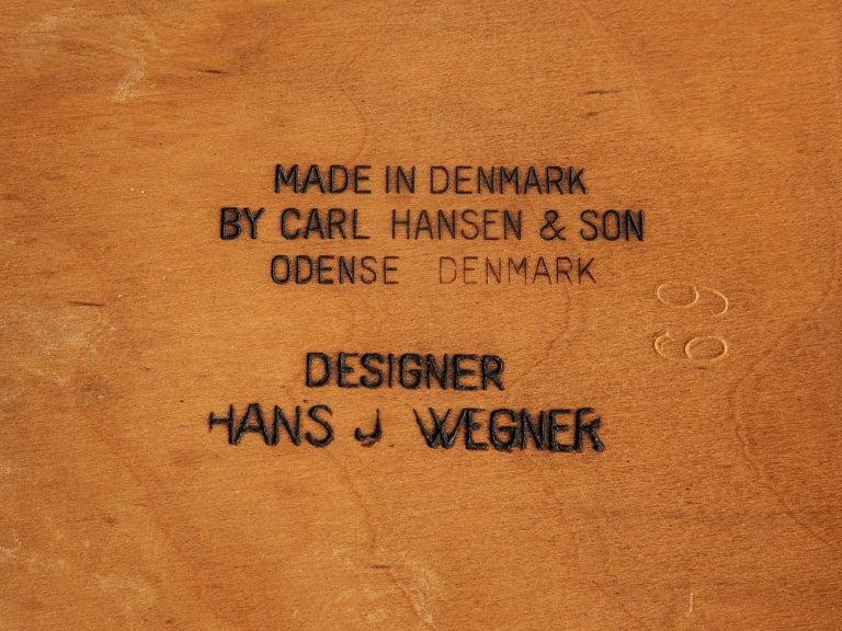 Hans J. Wegner Sawbuck Chairs 1