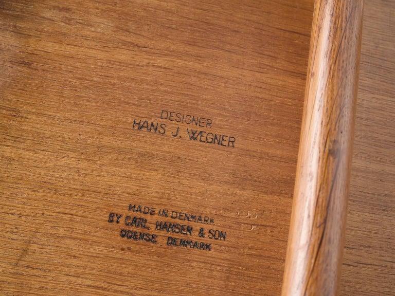 Hans J. Wegner Set of 'Sawbuck' Chairs for Carl Hansen For Sale 2