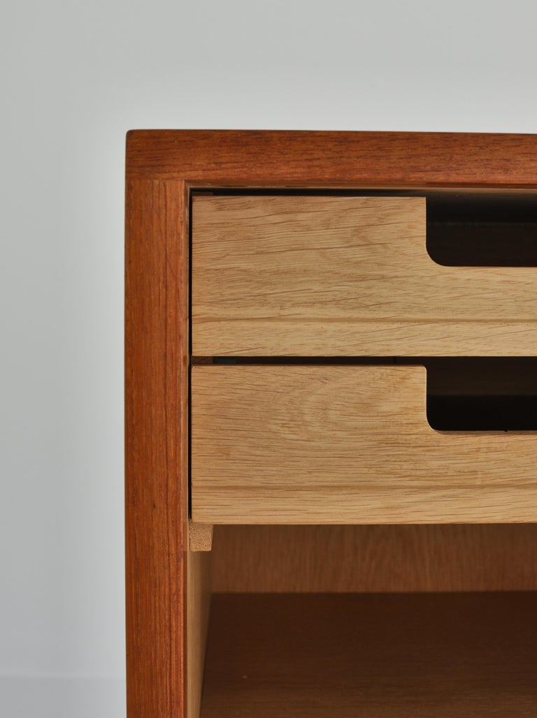 Hans J. Wegner Sideboard in Teakwood made at Cabinetmaker Johannes Hansen, 1960s 3